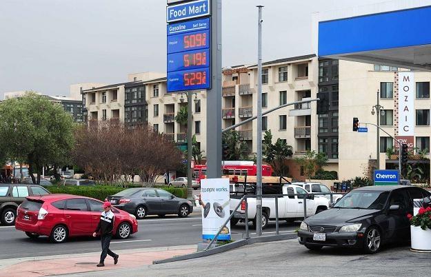 Ceny paliw wszędzie są wysokie, ale w niektórych państwach stanowią mniejsze obciążenie /AFP