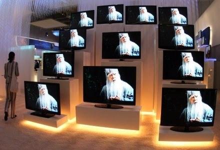 Ceny telewizorów LCD spadają z miesiąca na miesiąc. /AFP