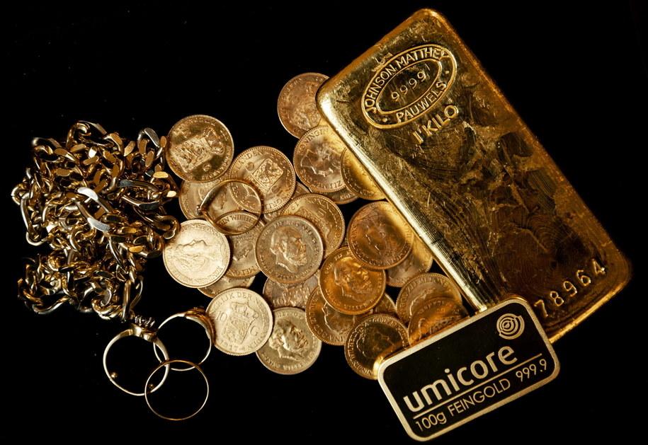 Ceny złota biją rekordy /ROBIN VAN LONKHUIJSEN /PAP/EPA