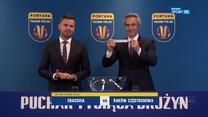 Ceremonia losowania 1/2 finału Fortuna Pucharu Polski (POLSAT SPORT). Wideo