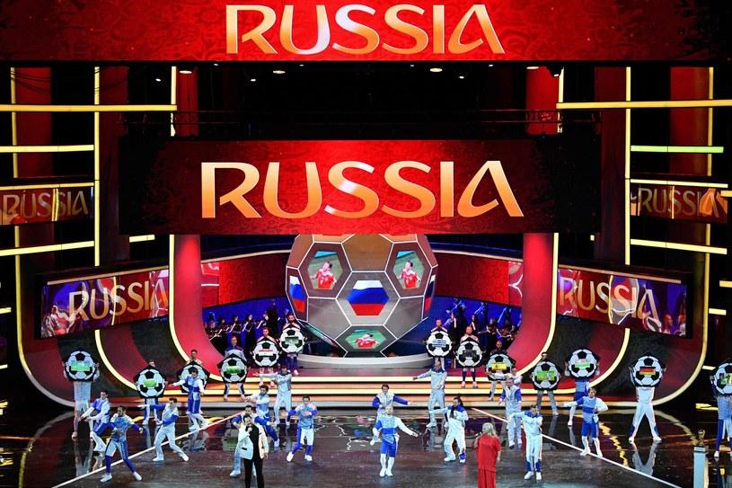 Ceremonia losowania grup mistrzostw świata w Rosji /AFP