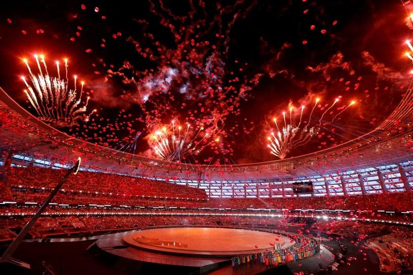 Ceremonia otwarcia Igrzysk Europejskich w Baku kosztowała prawie 85 mln euro /PAP/EPA