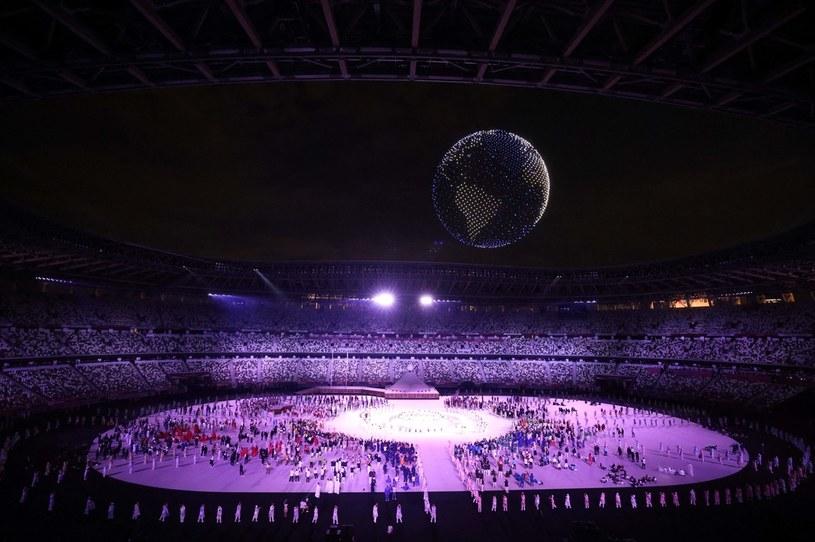 Ceremonia otwarcia igrzysk olimpijskich Tokio 2020 /Leon Neal /AFP