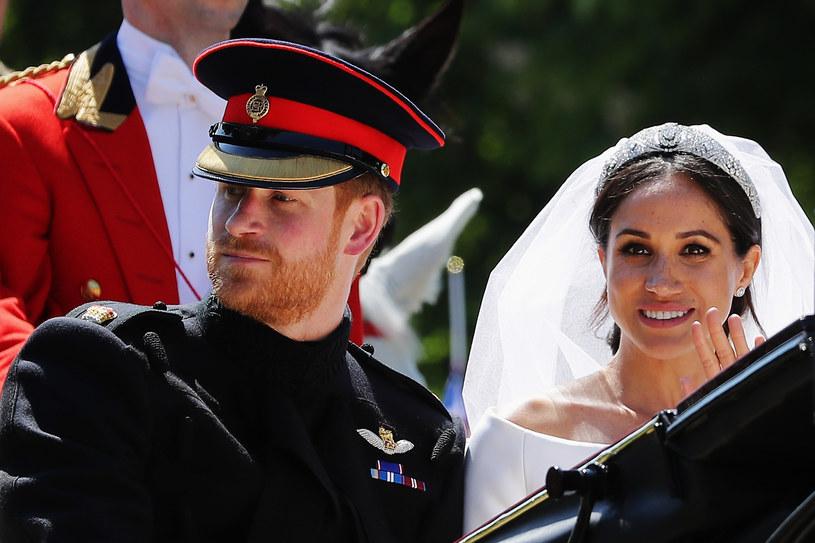 Ceremonia ślubna książęcej pary kosztowała około 32 milionów funtów /Getty Images
