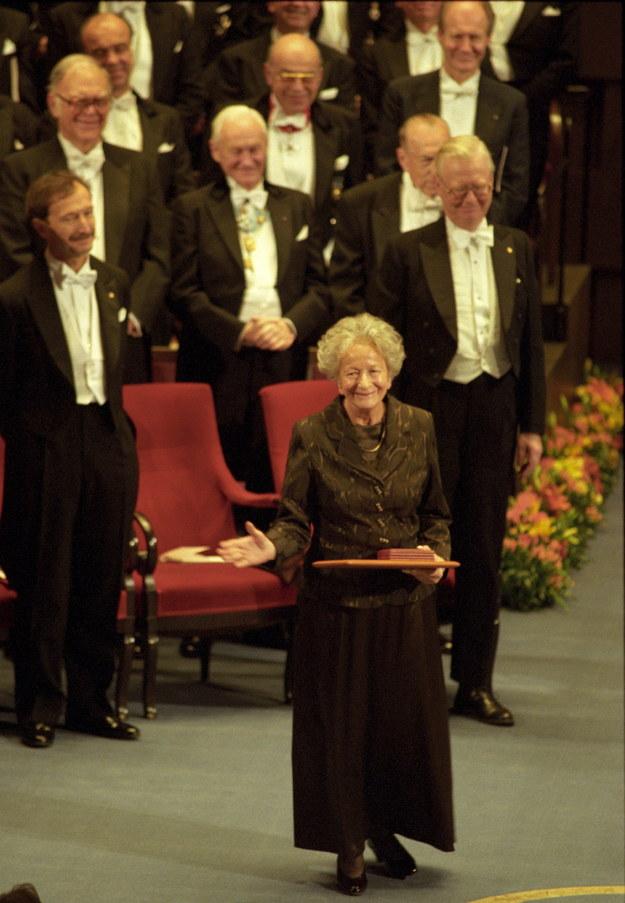 Ceremonia w Filharmonii Sztokholmskiej /Jacek Bednarczyk   /PAP