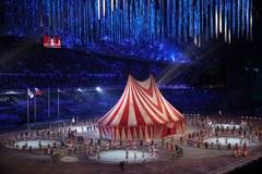 Ceremonia zamknięcia igrzysk: Fajerwerki i baśniowa sceneria