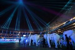 Ceremonia zamknięcia piłkarskich mistrzostw świata w RPA
