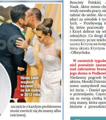 Ceremonia zaślubin Oli i Kuby /Dobry Tydzień