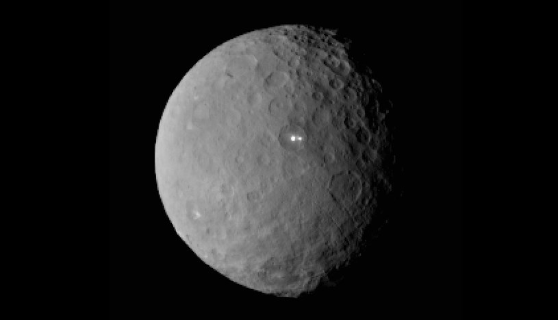 Ceres z odległości 46 tysięcy km. Zdjęcie wykonane 19 lutego 2015. /NASA