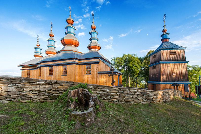Cerkiew w Komańczy /123RF/PICSEL