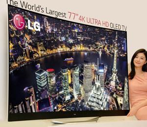 CES 2014: Wielkie telewizory OLED Ultra HD marki LG