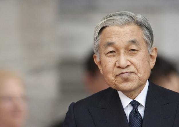 Cesarz Japonii Akihito /AFP