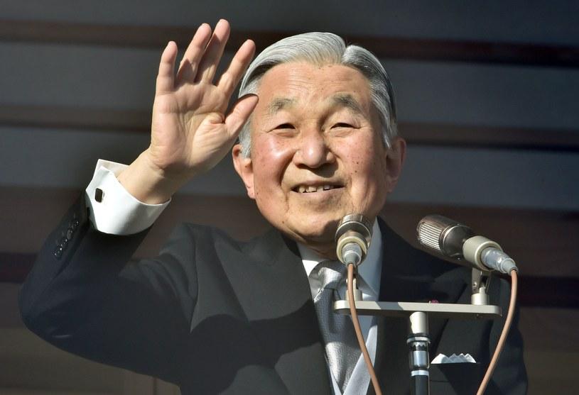 Cesarz Japonii Akihito / KAZUHIRO NOGI /AFP