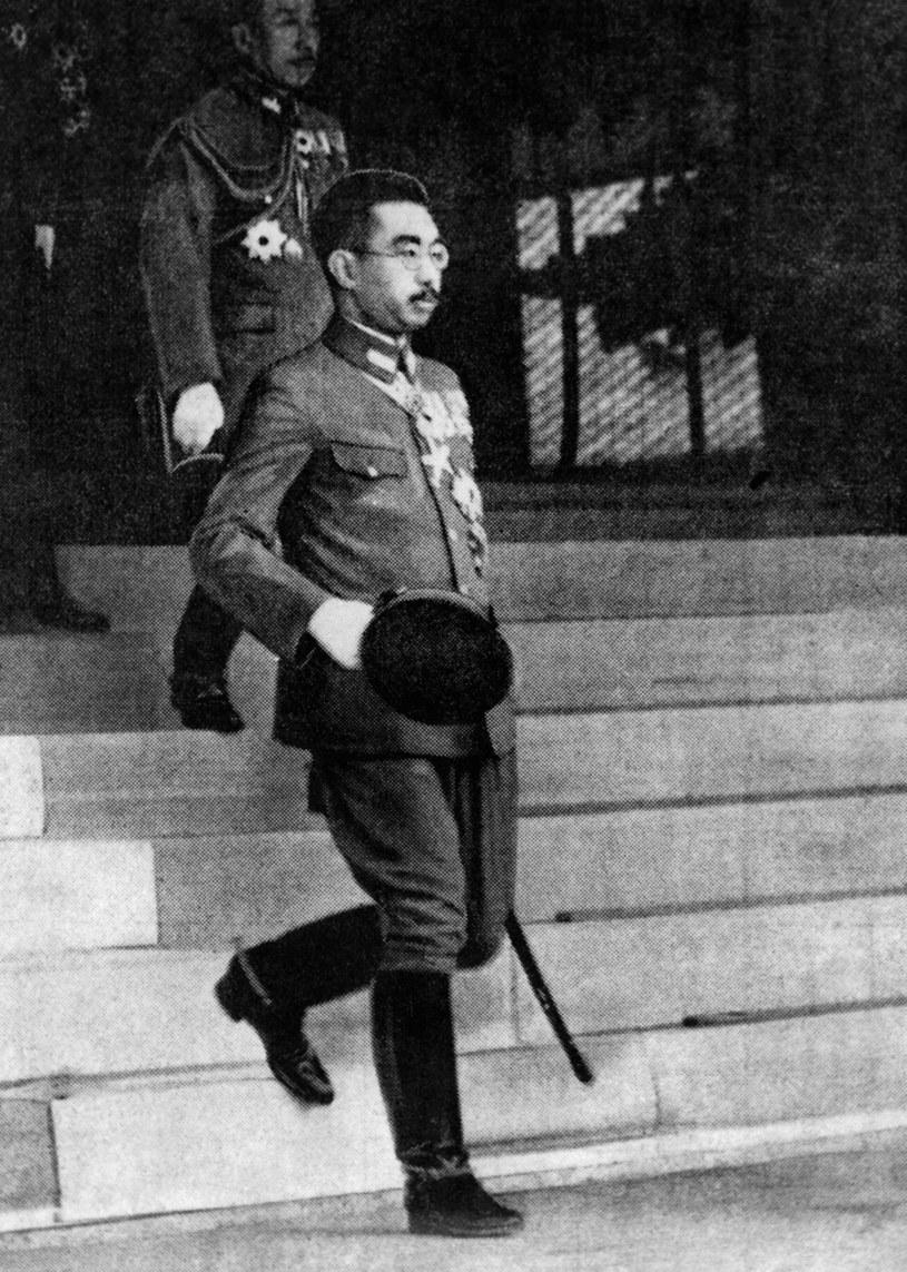 Cesarz Japonii Hirohito /FRANCE PRESSE VOIR /AFP