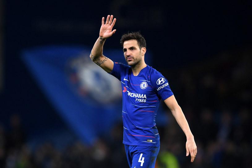 Cesc Fabregas żagna się z kibicami ze Stamford Bridge /Darren Walsh /Getty Images