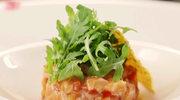 Ceviche z łososia z cytrusowym dressingiem