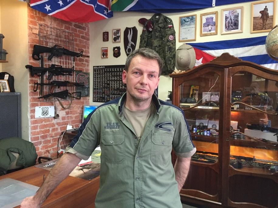 Cezariusz Stolarczyk przyznaje, że bał się, iż Holendrzy mogą mieć związki z terrorystami /Kuba Kaługa /RMF FM