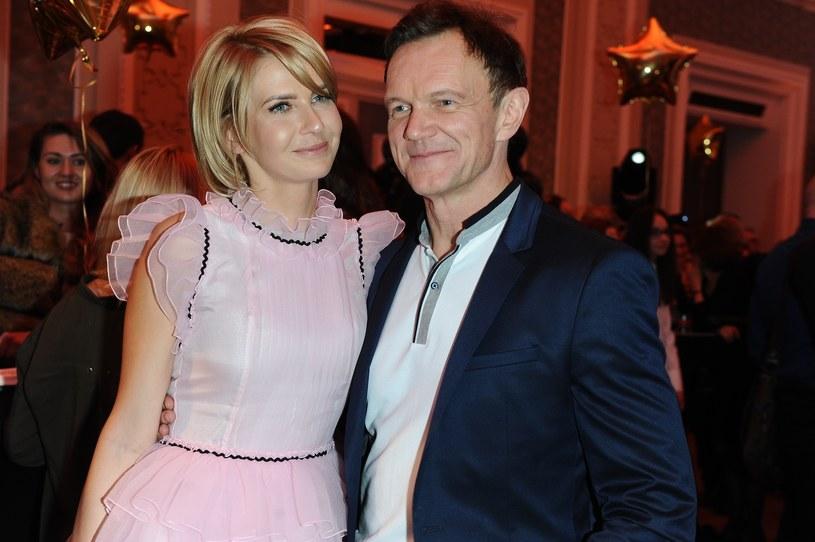 Cezary i Edyta Pazurowie chętnie pokazują się wspólnie na branżowych imprezach /East News