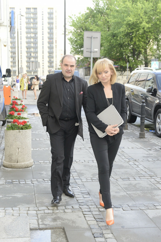 Cezary i Katarzyna Żakowie dementują plotki na temat ich rozstania /TRICOLORS/EAST NEWS /East News