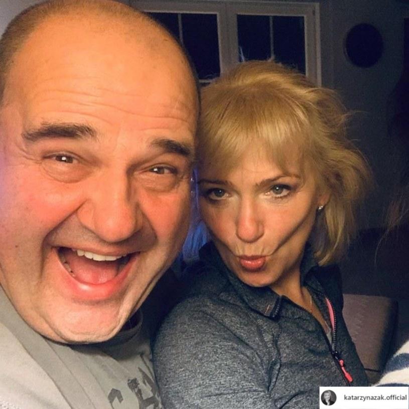 Cezary i Katarzyna Żakowie są w szczęśliwym związku /Instagram / katarzynazak.official /Instagram