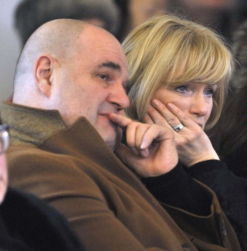 Cezary i Katarzyna Żakowie /Włodarski/REPORTER /Reporter