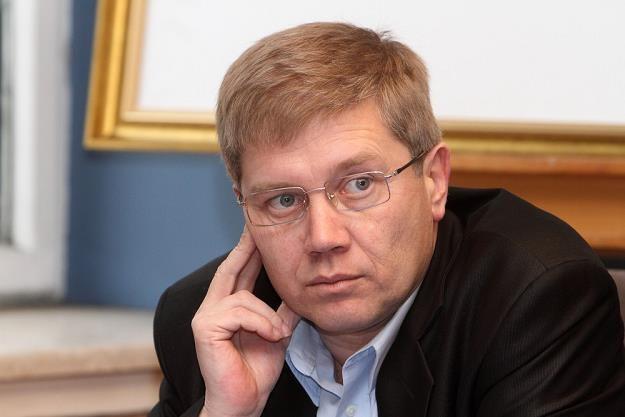 Cezary Kaźmierczak, prezes Związku Przedsiębiorców i Pracodawców. Fot. JAN KUCHARZYK /Agencja SE/East News