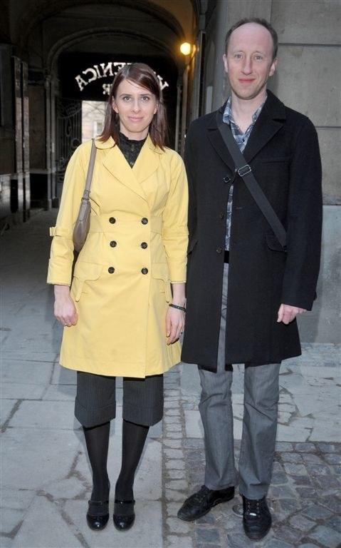 Cezary Kosiński z żoną /Agencja W. Impact