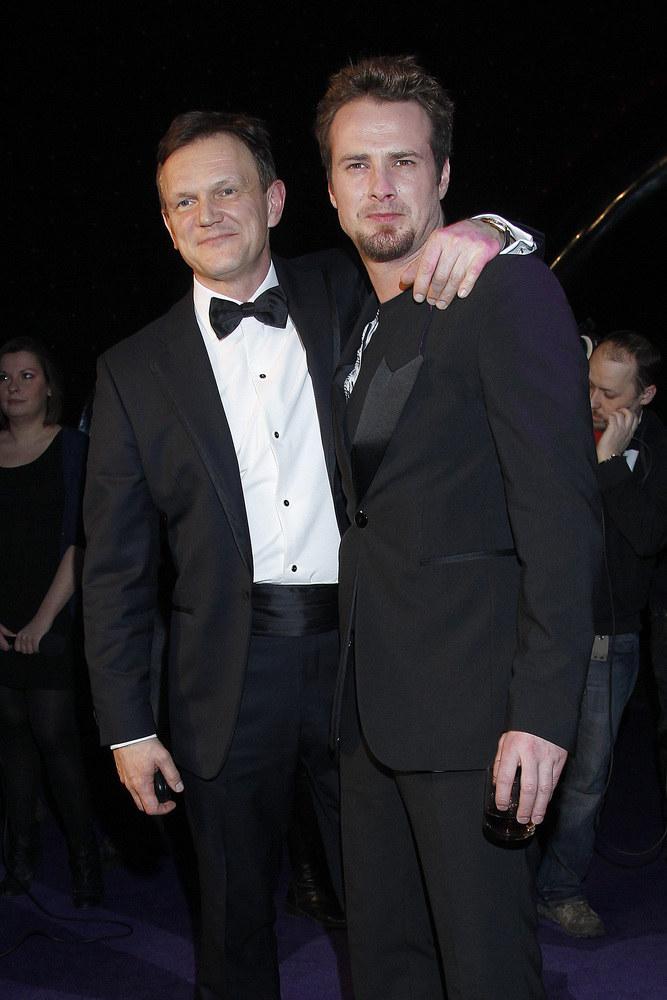Cezary Pazura i Paweł Małaszyński /Jarosław Wojtalewicz /AKPA