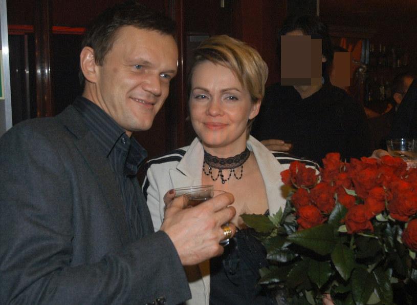 Cezary Pazura i Weronika Marczuk /Witold Rozbicki /East News