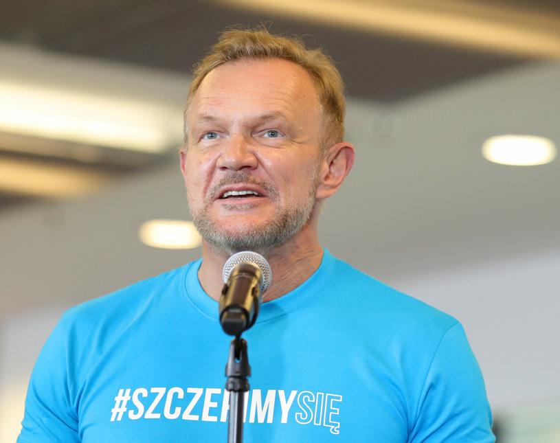 Cezary Pazura został ambasadorem kampanii #SzczepimySie /Piotr Molecki /East News