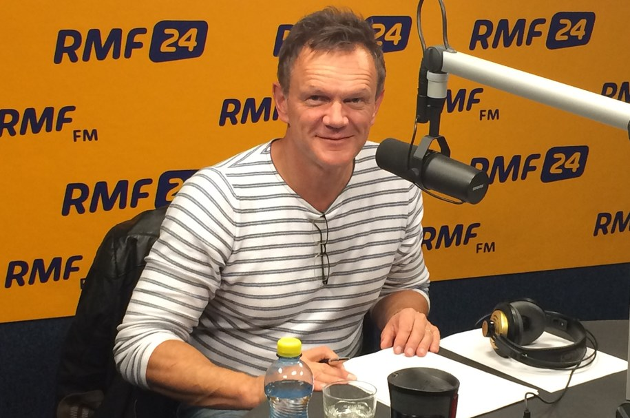 Cezary Pazura /RMF FM