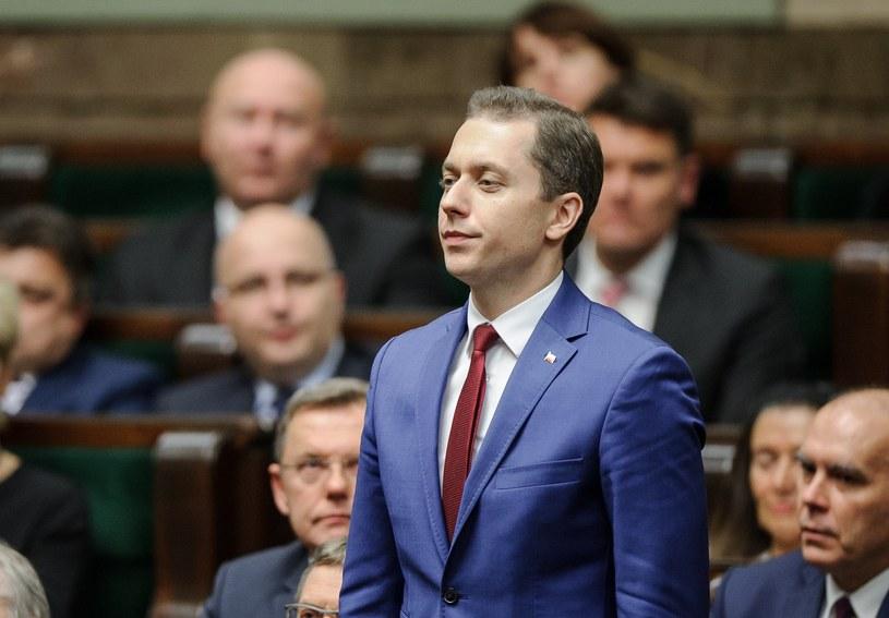 Cezary Tomczyk (PO) /Rafal Oleksiewicz /Reporter