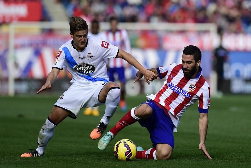Cezary Wilk (L) jeszcze w barwach Deportivo La Coruna /AFP