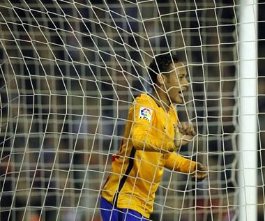CF Valencia - FC Barcelona 1-1 w 14. kolejce Primera Division