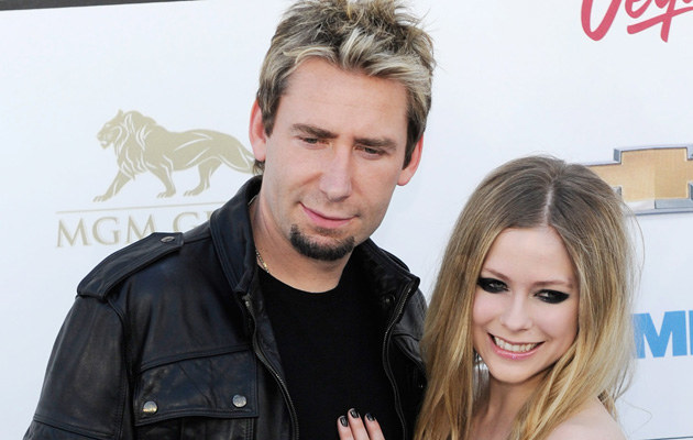 Chad Kroeger i Avril Lavigne /David Becker /Getty Images