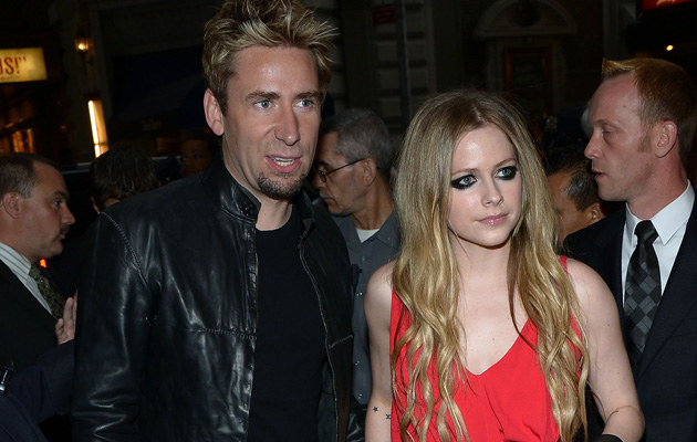 Chad Kroeger i Avril Lavigne /Theo Wargo /Getty Images