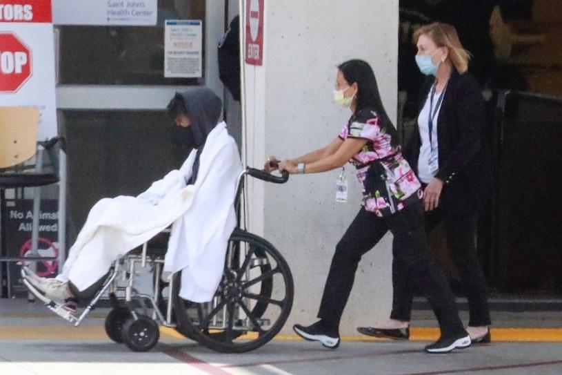 Chadwick Boseman w drodze do szpitala w czerwcu 2020 /GEDU, SALA/Backgrid /East News