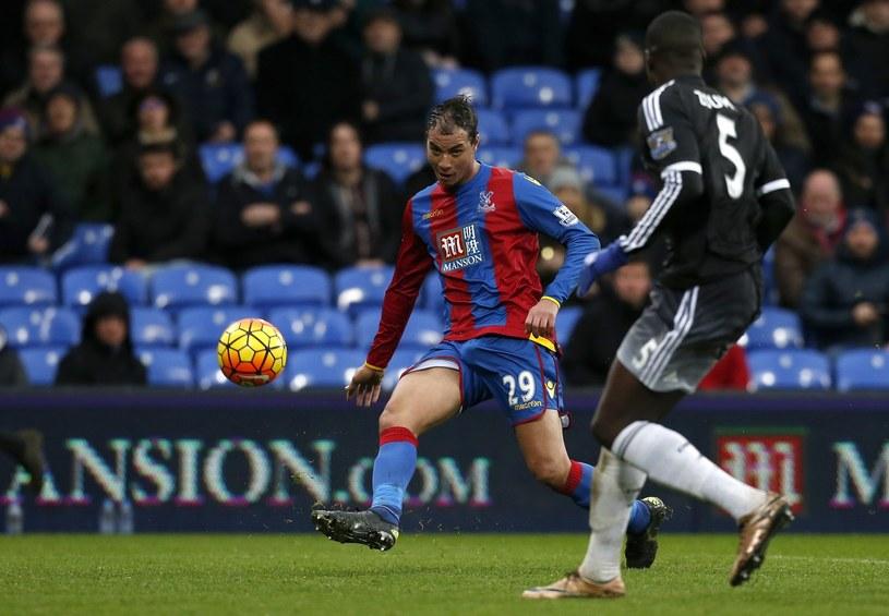 Chamakh w barwach Crystal Palace /AFP