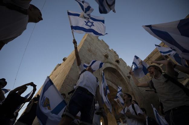 Chamenei wzywa Palestyńczyków do walki z Izraelem /ATEF SAFADI  /PAP/EPA