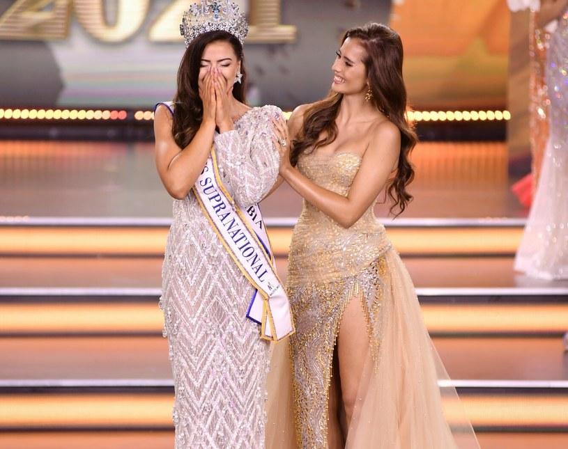 Chaniquce Rabe zdobyła tytuł Miss Supranational 2021 i nie posiadała się ze szczęścia /Łukasz Kalinowski /East News