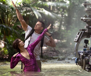"""Channing Tatum pozuje nago na planie """"The Lost City of D"""""""