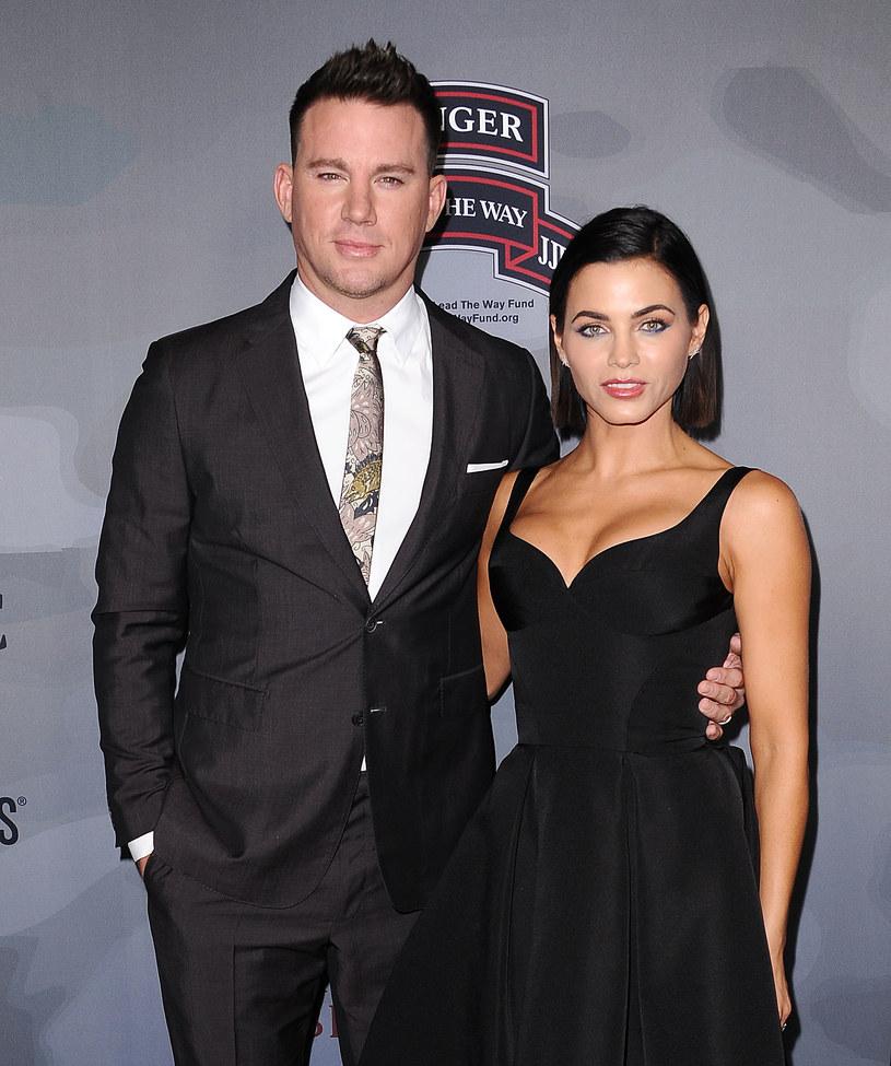 Channing Tatum z byłą żoną, Jenną Dewan /Jason LaVeris /Getty Images