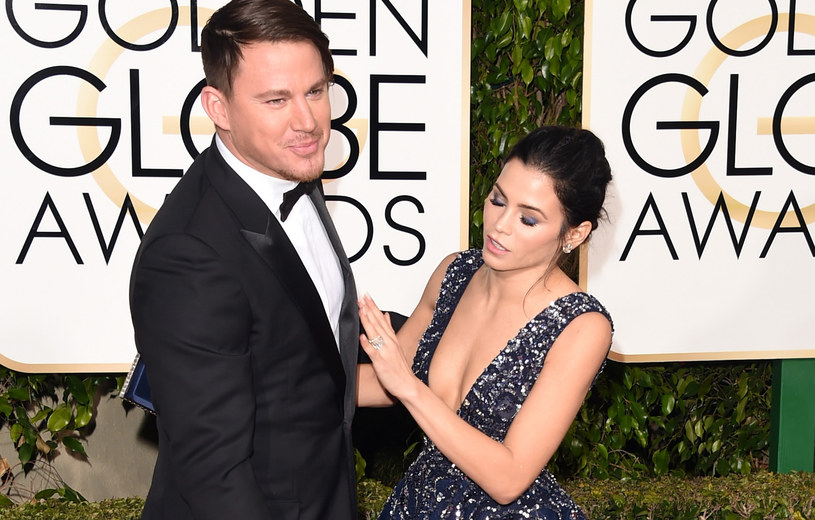 Channing Tatum z żoną /Jason Merritt /Getty Images
