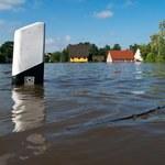 Chaos komunikacyjny w Niemczech. Po ulewie zamknięto ważny most