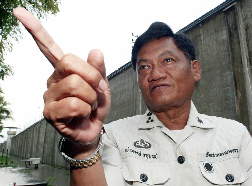 Chaowarate Jarubun - oprawca z więzienia Bang Kwang /AFP
