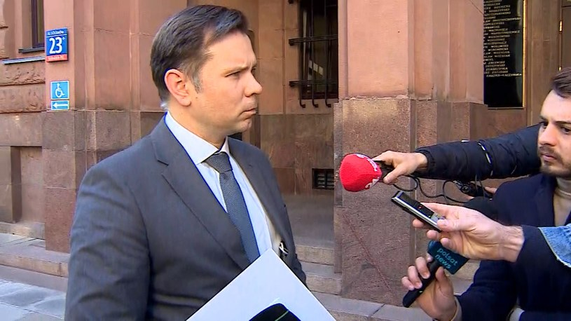 Charge d'affaires Ambasady Republiki Białorusi Alaksandr Czasnouski /Polsat News