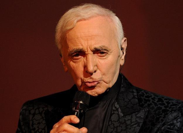Charles Aznavour kończy 90 lat /arch. AFP