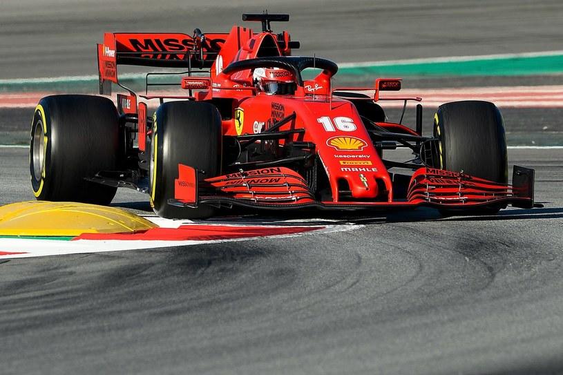 Charles Leclerc, kierowca Ferrari /AFP