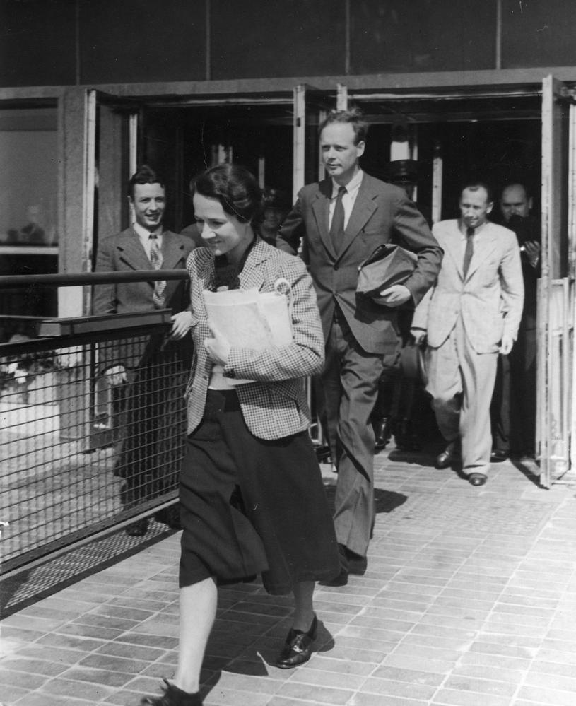 Charles Lindbergh z żoną. Słynny lotnik, któremu porwano i zabito syna (domena publiczna) /Ciekawostki Historyczne