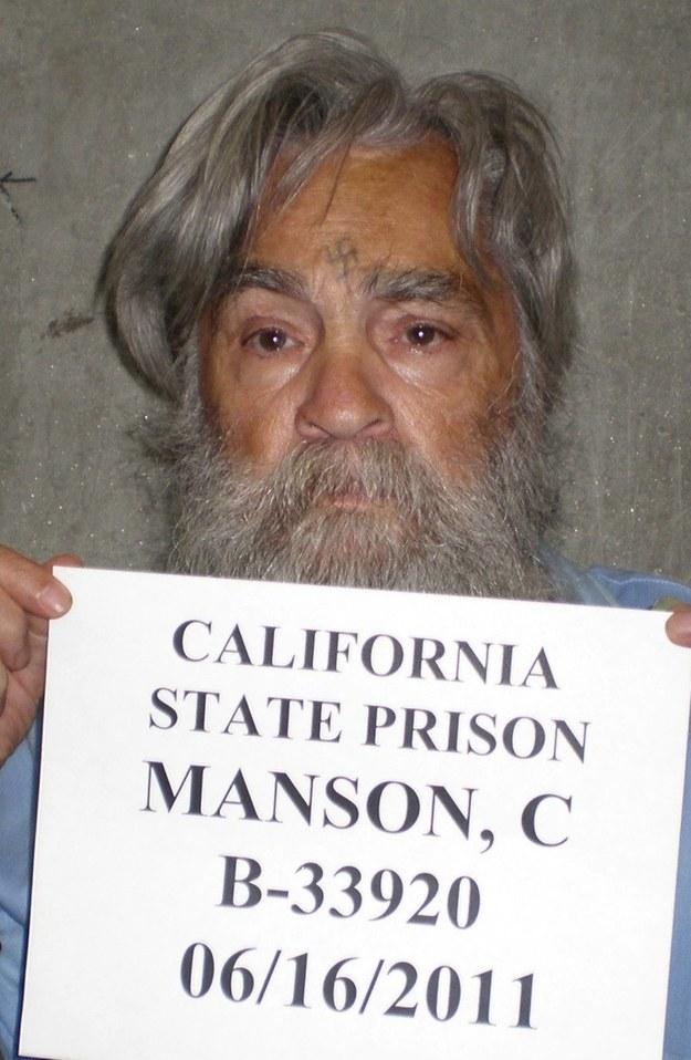 Charles Manson /CALIFORNIA DOC  /PAP/EPA